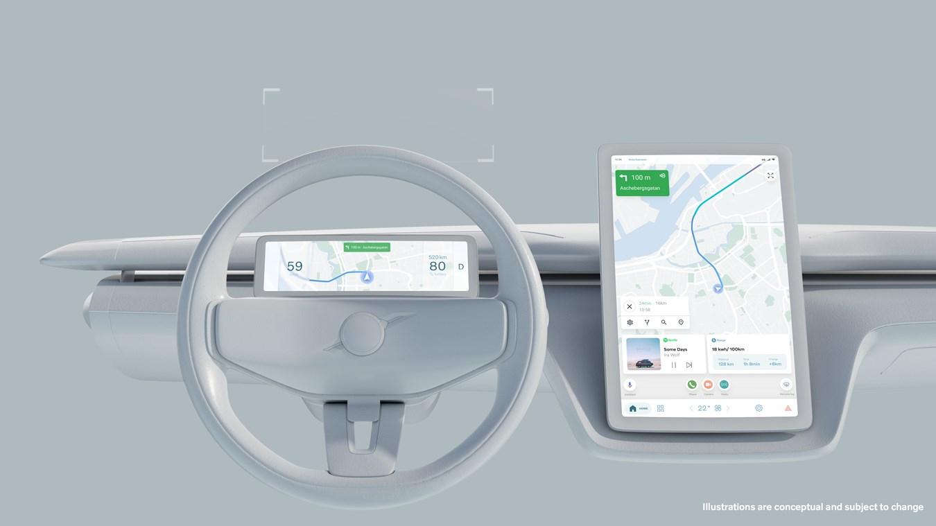 Parceria Volvo Cars e Google